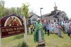 St. Michael's new church sign was blessed on Palm Sunday, April 28, 2013
