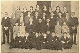 St. Michael's Church Choir - 1930