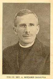 Past Rector Fr. Benjamin Basalyga, later Bishop Benjamin of Pittsburgh and Bishop of Japan